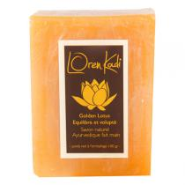 Loren Kadi - Savon naturel fait main Golden Lotus 100gr
