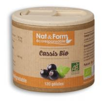 Nat & Form - Cassis Bio 120 Gél. 250 Mg