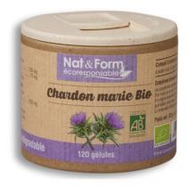 Nat & Form - Chardon Marie Bio 120 Gél. 200 Mg