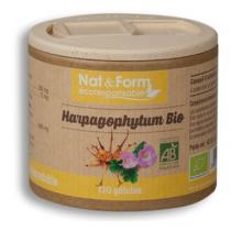 Nat & Form - Harpagophytum Bio 120 Gél. 280 Mg