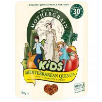 Quinola Mothergrain - Pack de 3 Quinoa Kids Méditerranéen 150gr