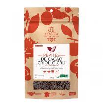 Sol Semilla - Cacao cru pépites 250g