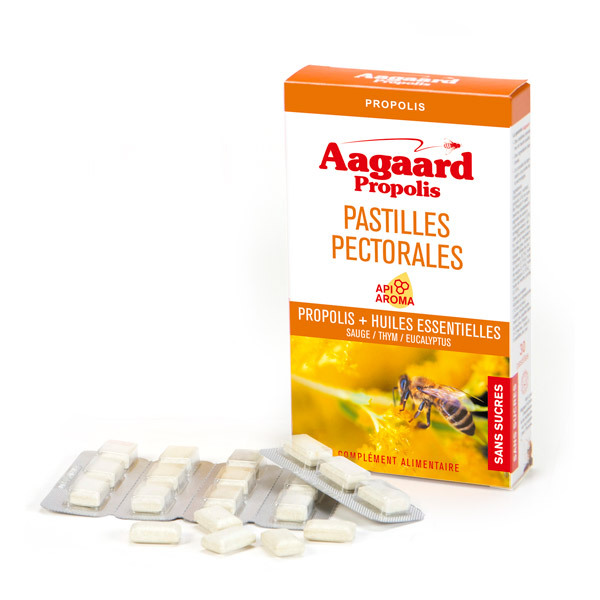 Aagaard Propolis - Pastilles Pectorales x 30