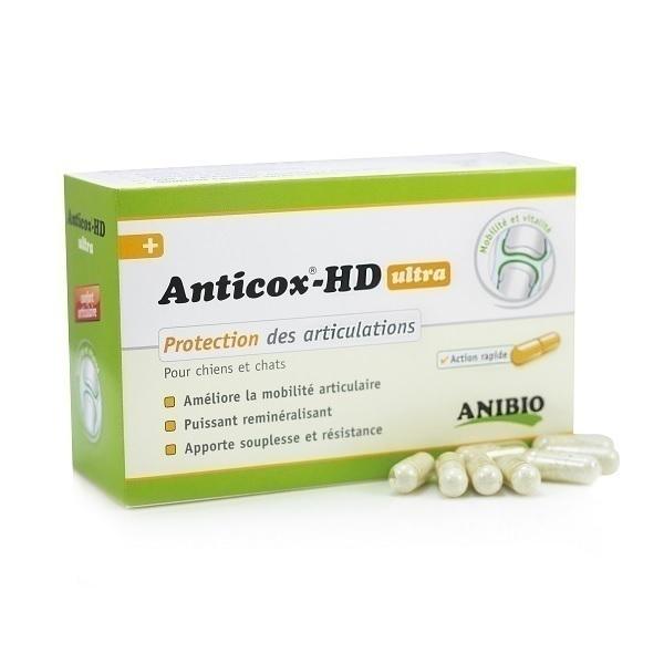 Anibio - Supplément nutritionnel Anticox HD Ultra 50 gélules