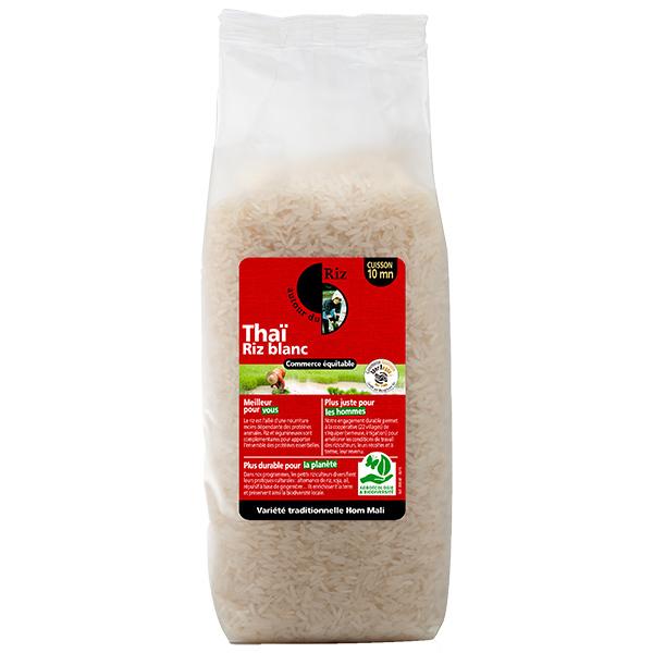 Autour du Riz - Riz thaï blanc 1kg