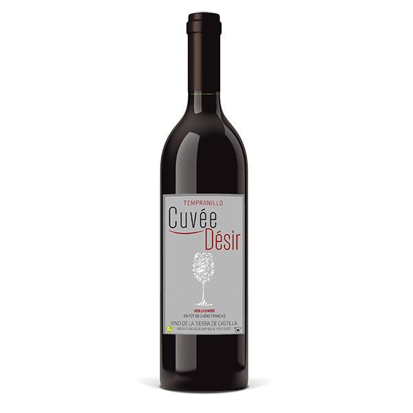 Cuvée Plaisir et Désir - Cuvée désir Vin de la terre de Castille - Rouge vieilli 12 moi