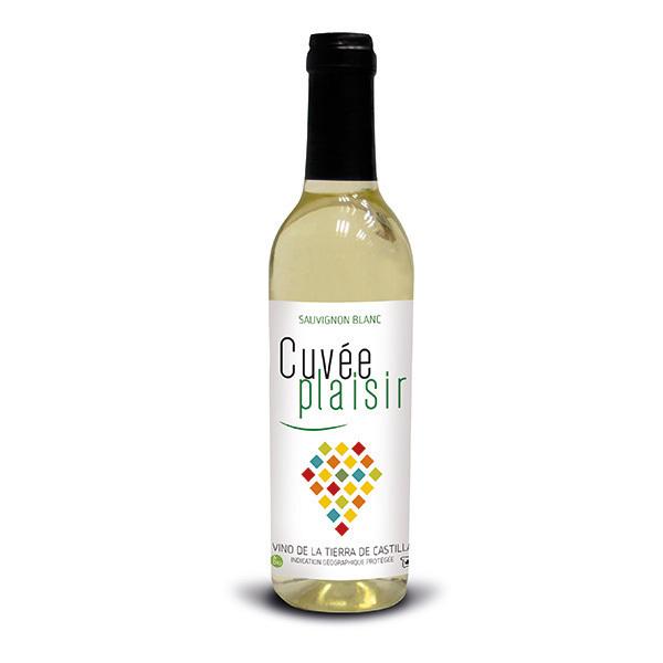 Cuvée Plaisir et Désir - Cuvée plaisir Vin de la terre de Castille - Blanc 37,5cl