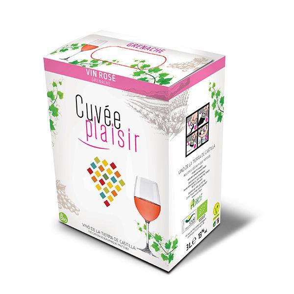 Cuvée Plaisir et Désir - Cuvée plaisir Vin de la terre de Castille - Rosé 3L