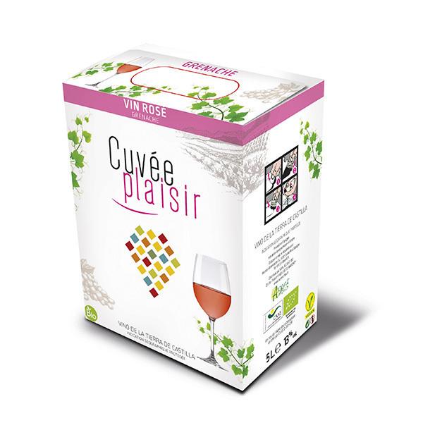 Cuvée Plaisir et Désir - Cuvée plaisir Vin de la terre de Castille - Rosé 5L