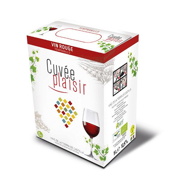 Cuvée Plaisir et Désir - Cuvée plaisir Vin de la terre de Castille - Rouge 5L