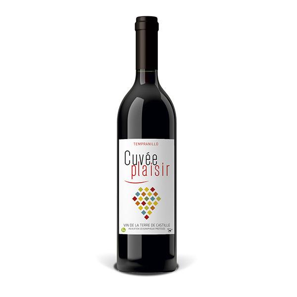 Cuvée Plaisir et Désir - Cuvée plaisir Vin de la terre de Castille - Rouge 75cl