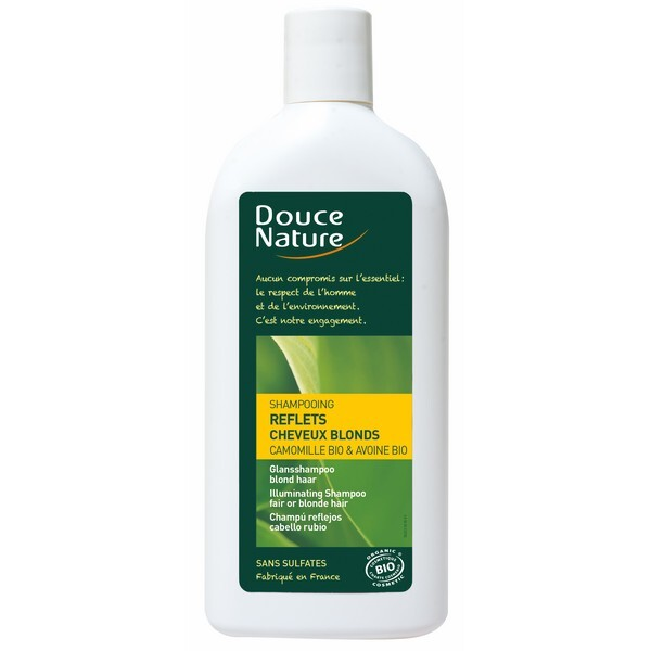 Douce Nature - Shampooing reflet cheveux blonds 300ml