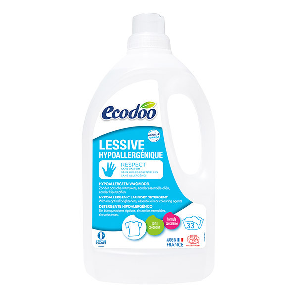 Ecodoo - Lessive hypoallergénique Respect 1,5L