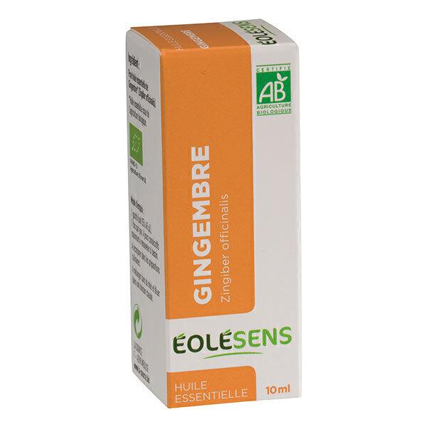 Eolesens - Huile Essentielle Bio de Gingembre x 10mL