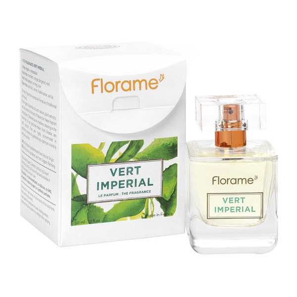 Parfum Vert Impérial 50ml Florame Acheter Sur Greenweezcom