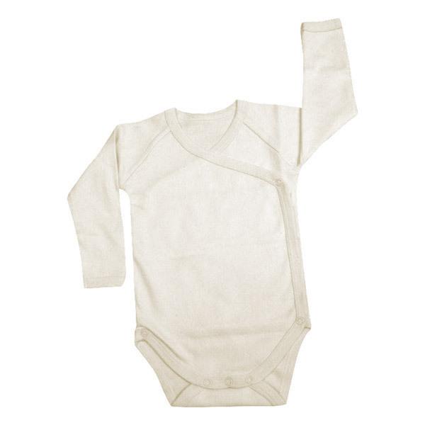 Greenweez - Body croisé Manches longues Coton bio 0-18 mois