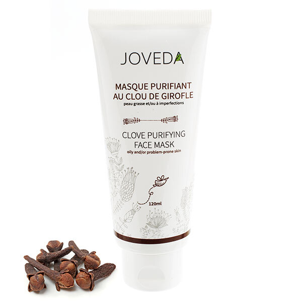 Joveda - Masque Purifiant Clou de Girofle 120ml