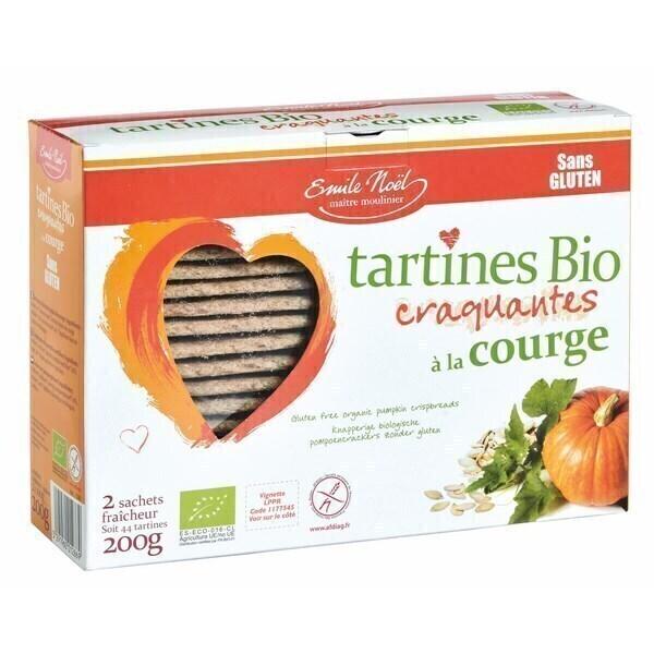 L'Emile Saveurs - Tartines courge sans gluten 2x100g