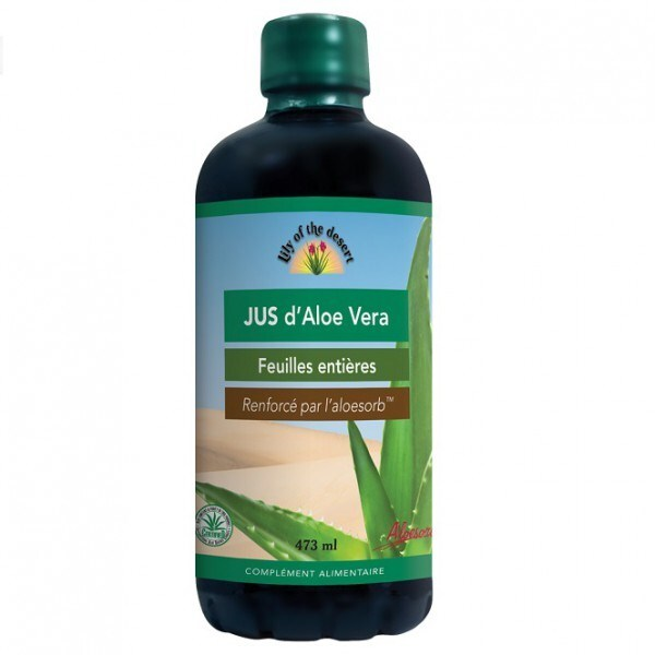 jus d aloe vera 473 ml lily of the desert acheter sur. Black Bedroom Furniture Sets. Home Design Ideas