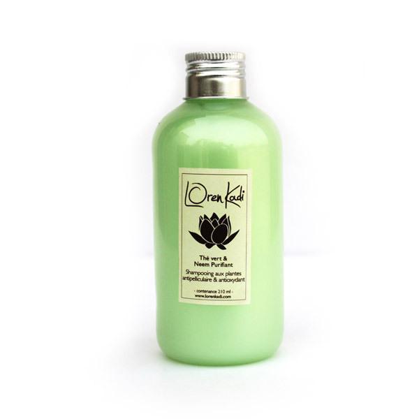 Loren Kadi - Shampooing antipelliculaire neem 210ml