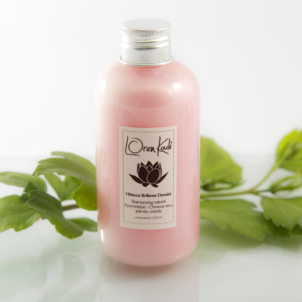 Loren Kadi - Shampooing cheveux secs, Hibiscus 210ml