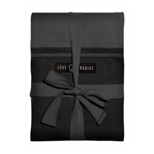Love Radius - Echarpe de portage Originale Anthracite poche Noire