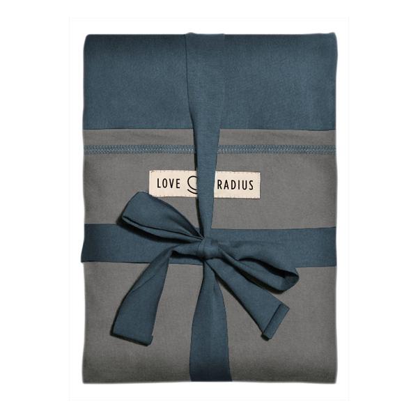 Love Radius - Echarpe de portage Originale Bleu Paon poche Elephant