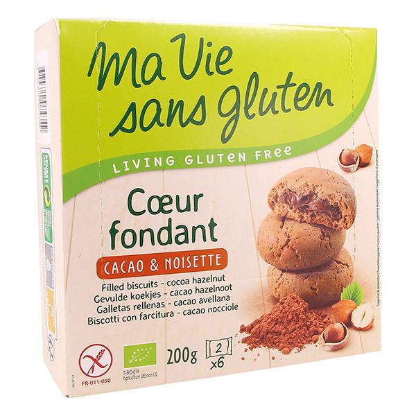 Ma Vie Sans Gluten - Coeurs fondants cacao noisette 200g