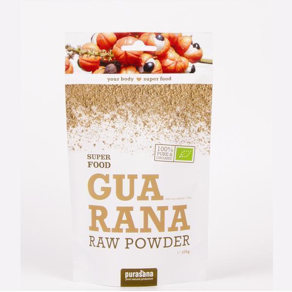 Purasana - Poudre De Guarana 100 Gr