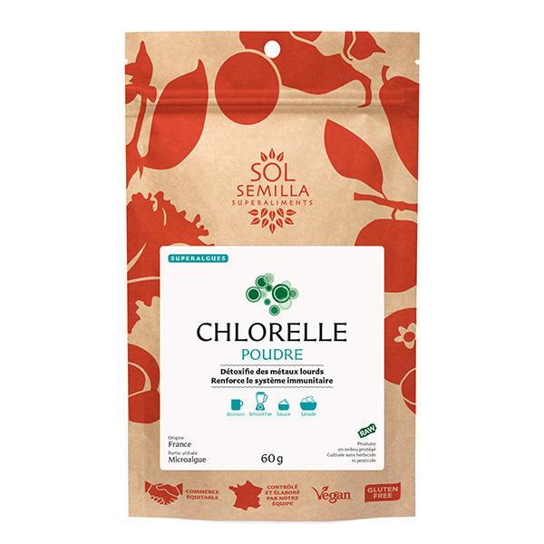 Sol Semilla - Chlorelle poudre 60g