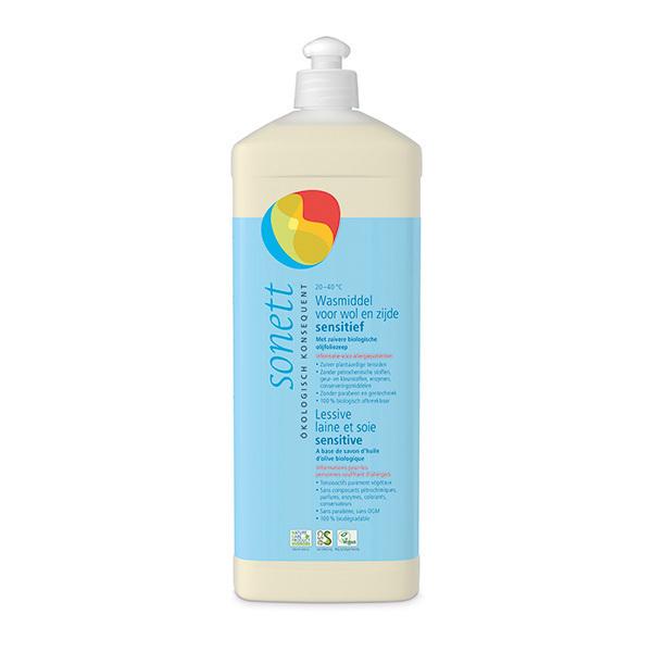 Sonett - Lessive hypoallergénique laine et soie 1L