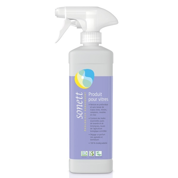Sonett - Spray nettoyant pour vitres 50cl