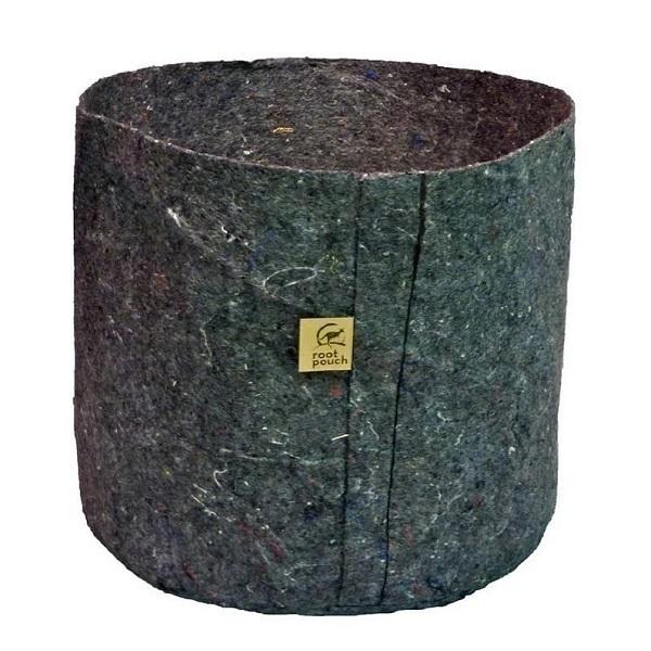 Root Pouch - Pot en tissu géotextile 8L Gris