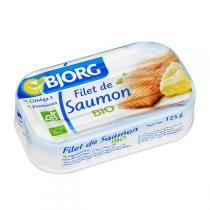 Bjorg - Filet de saumon 125g