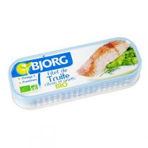 Bjorg - Filet de truite citron aneth 115g