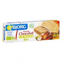 Bjorg - Fourre chocolat lait noisettes 225g