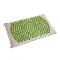 Bonnes idées Greenweez 24 - Tapis d'acupression Shantimat Fleur de Vie Vert