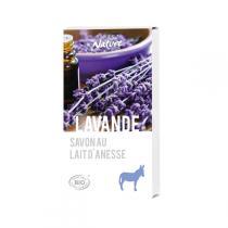 Direct Nature - Savonnette Lait d'ânesse Bio Lavande 100 g