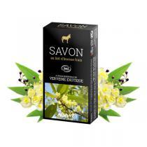 Direct Nature - Savonnette Lait d'ânesse Bio Verveine Exotique 100 g