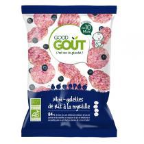 Good Gout - Mini-galette de riz à la myrtille 40g - Dès 10 mois
