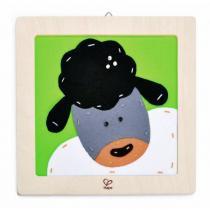Hape - Kit de broderie le mouton à laine - Dès 6 ans