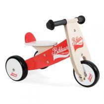Janod - Little Bikloon Dreirad rot und weiss