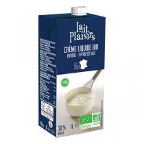 Lait Plaisirs - Crème liquide entière UHT 30% MG/PF 1L