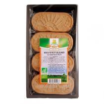 Moulin des Moines - Biscuits Petit-déj aux noisettes et fruits bio - 160g
