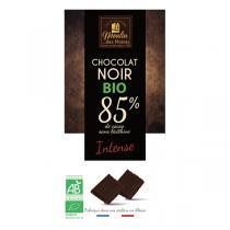 Moulin des Moines - Chocolat noir intense 85% de cacao bio - 100g