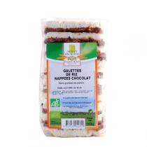 Moulin des Moines - Galette de riz nappées chocolat - 150g