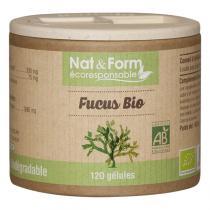 Nat & Form - Algues fucus bio 120 gélules