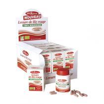 Nat & Form - Levure de riz rouge bio 60 gelules
