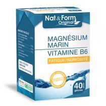 Nat & Form - Magnésium + Vitamine B6 x 40 Gélules