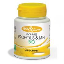 Nat & Form - propolis gommes bio 50 g